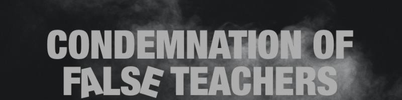 """EBC-Sermon 20200426 """"False Teachers"""""""